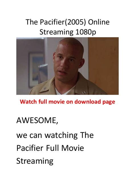 the pacifier full movie download in hindi dubbed